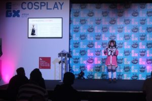 the cosplay stage