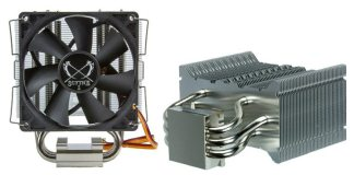 Scythe presents the compact Byakko CPU Cooler