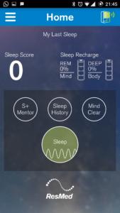 ResMed S+ Sleep Tracker App 4