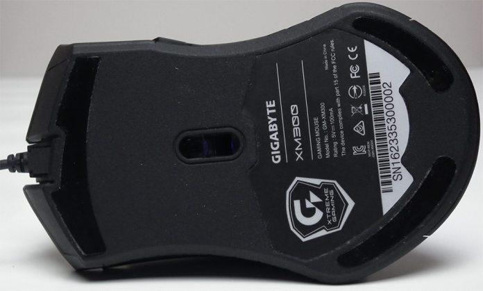 Gigabyte XM300 Underneath Close Up