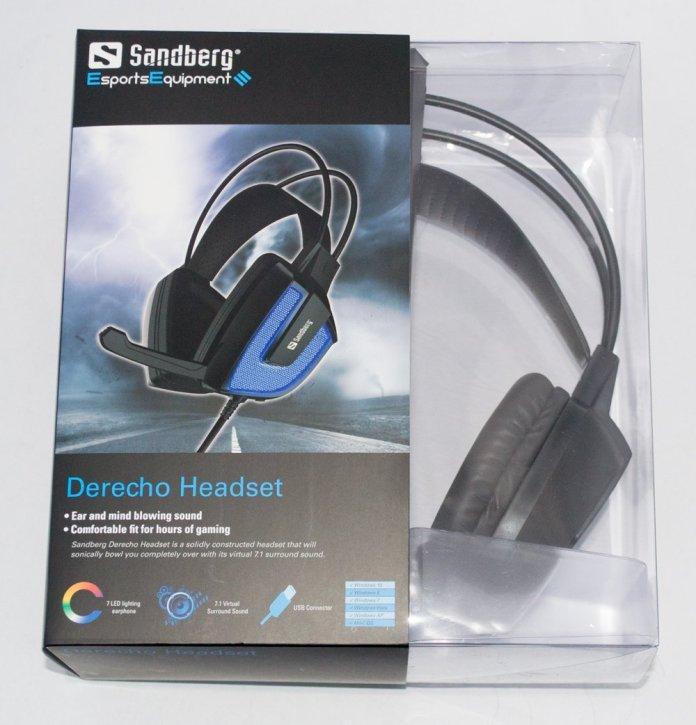 Sandberg Derecho Gaming Headset box