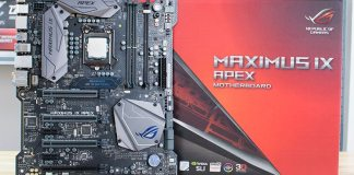 ASUS ROG Z270 MAXIMUS IX APEX Review 1