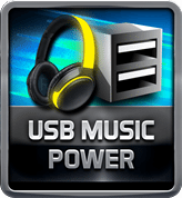 BIOSTAR RACING USB Music Power