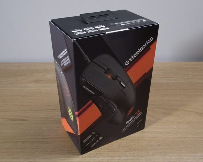 SteelSeries Rival 700 Box Front