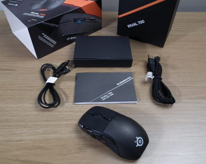 SteelSeries Rival 700 Contents
