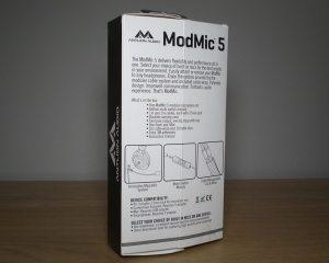 Antlion ModMic v5 Box Back