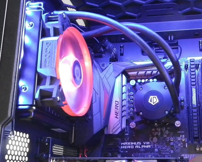 ID-Cooling Frostflow 120 LED
