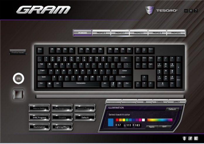 Tesoro GRAM Software 2#