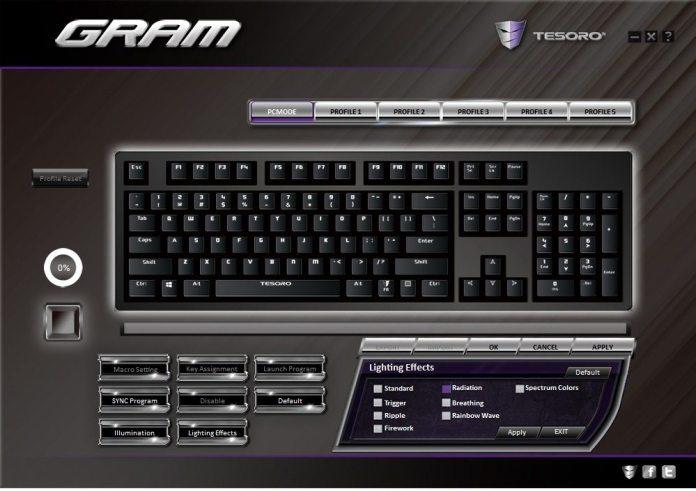 Tesoro GRAM Software 3