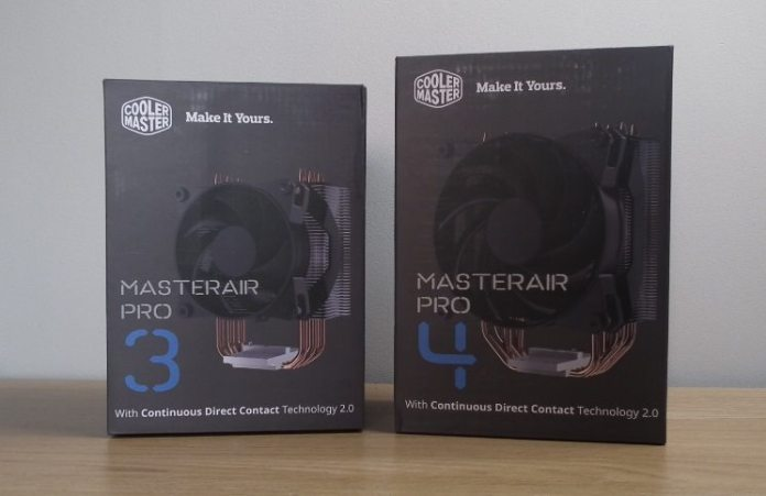 cooler master masterair pro feature