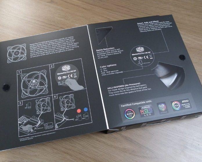 CM MasterFan Pro RGB Open Box