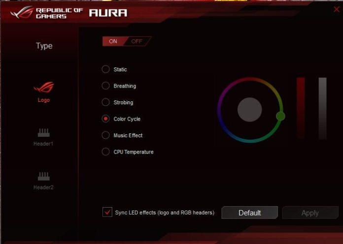 CM MasterFan Pro RGB ROG Aura