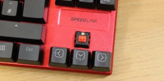 Speedlink Ultor Kailh switch fa
