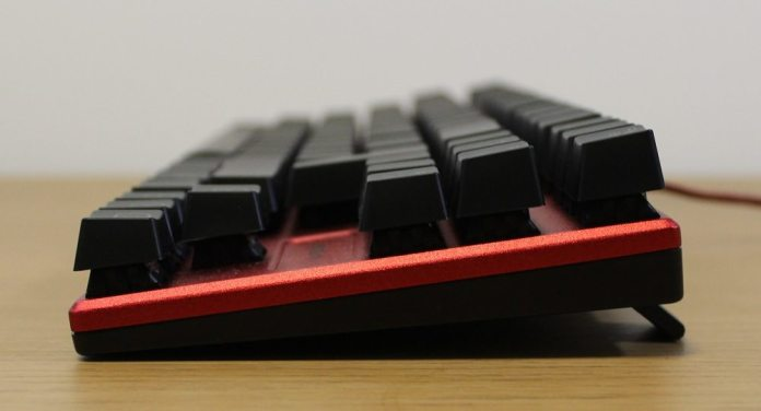Speedlink Ultor Keyboard side
