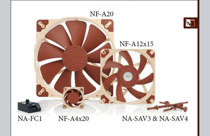noctua A-series fans Feature