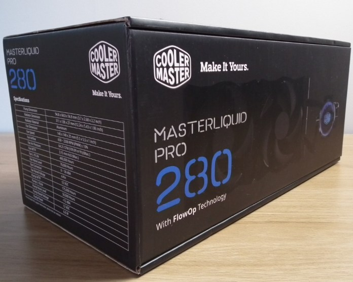 cooler master masterliquid pro 280 box