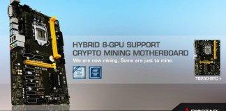 BIOSTAR 8-Slot PCI-e Mining Motherboard Feature