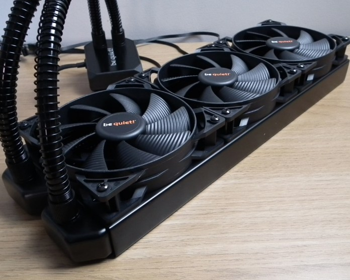 bequiet silent loop 360 fans fitted