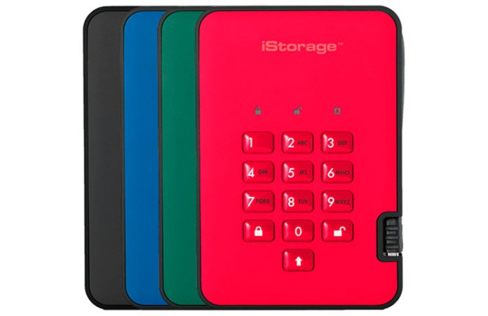 iStorage DiskAshur2 USB 3.1 Encrypted HDD Review