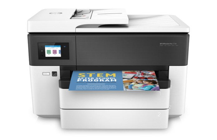 HP OfficeJet Pro 7730 Feature
