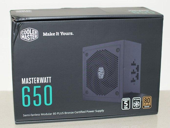 Cooler Master Masterwatt 650 PSU Review 1
