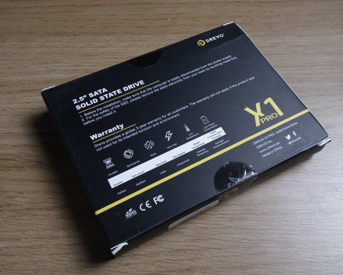 Drevo X1 Pro 64GB box 2
