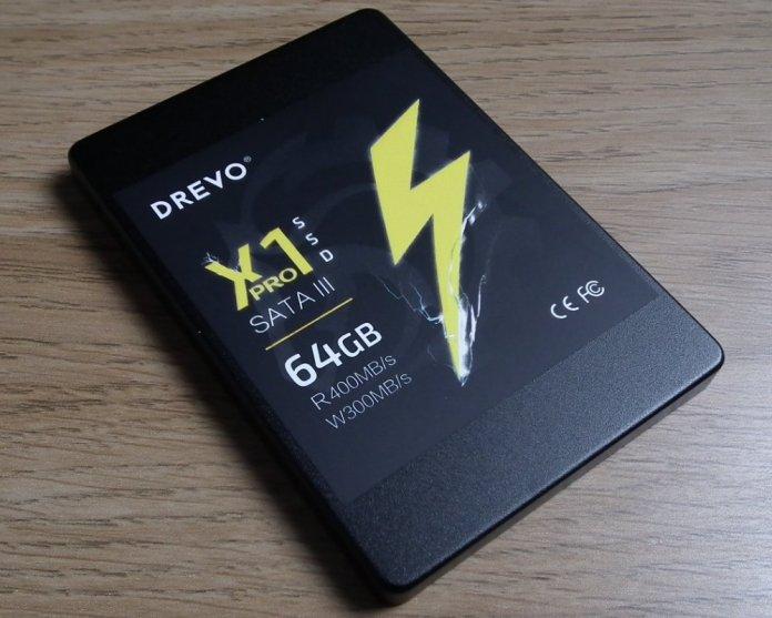 Drevo X1 Pro 64GB label
