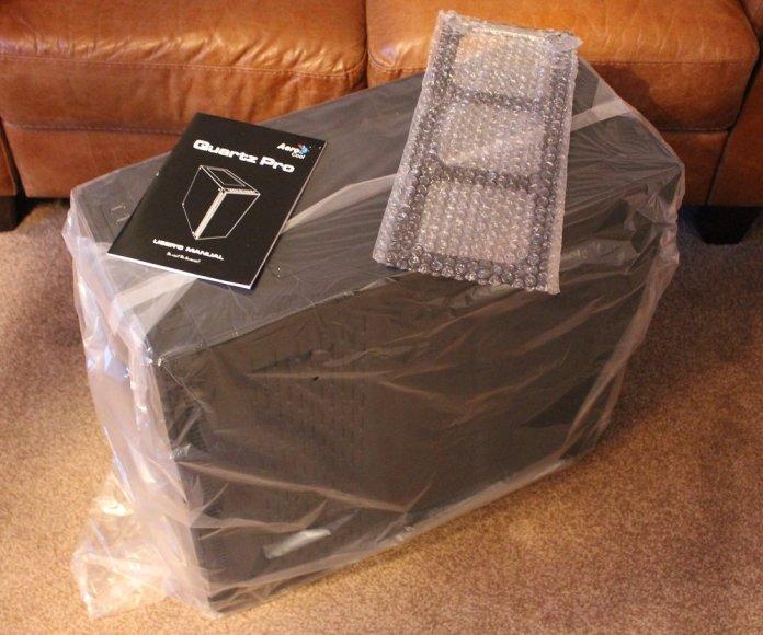 aerocool quartz pro box contents