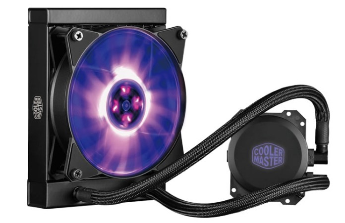 Cooler Master All-in-One Liquid Cooling Now with RGB Pump, Fan, Controller and Splitter