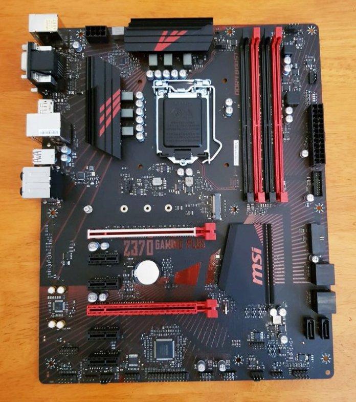 MSI Z370 Gaming Plus Motherboard 1