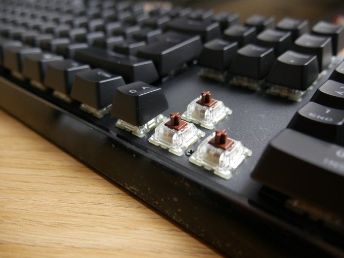 Masterkeys MK750 Cherry MX Brown