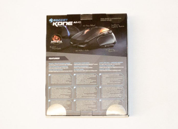ROCCAT Kone AIMO Mouse Box Rear