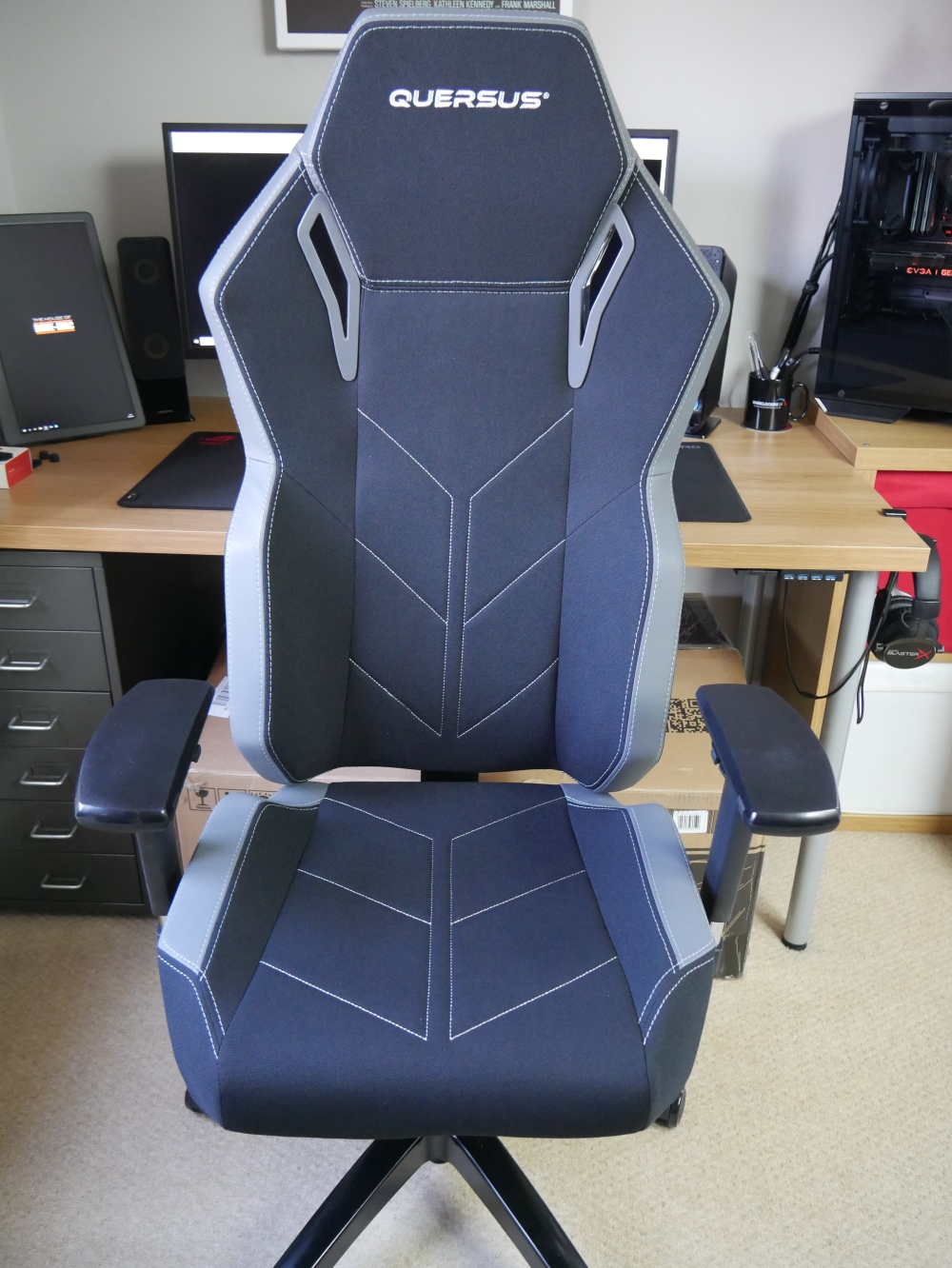 Fabulous Quersus Vaos 501 Gaming Chair Review Machost Co Dining Chair Design Ideas Machostcouk