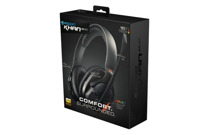 ROCCAT Introduces new Khan AIMO RGB Gaming Headset