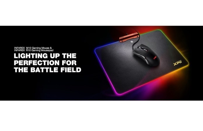 XPG Infarex M10 Gaming Mouse and R10 Gaming Mousepad Review