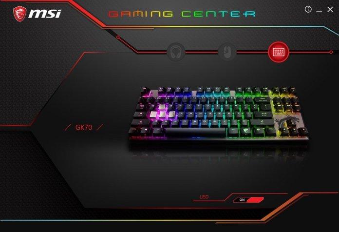 MSI Gaming Center