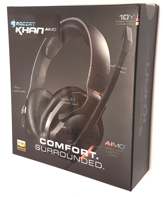 ROCCAT Khan AIMO box front