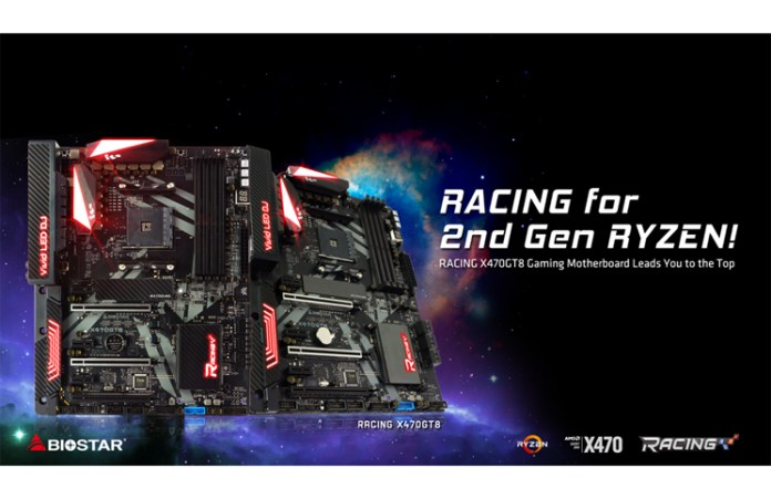 BIOSTAR RACING X470GT8 Main Feature