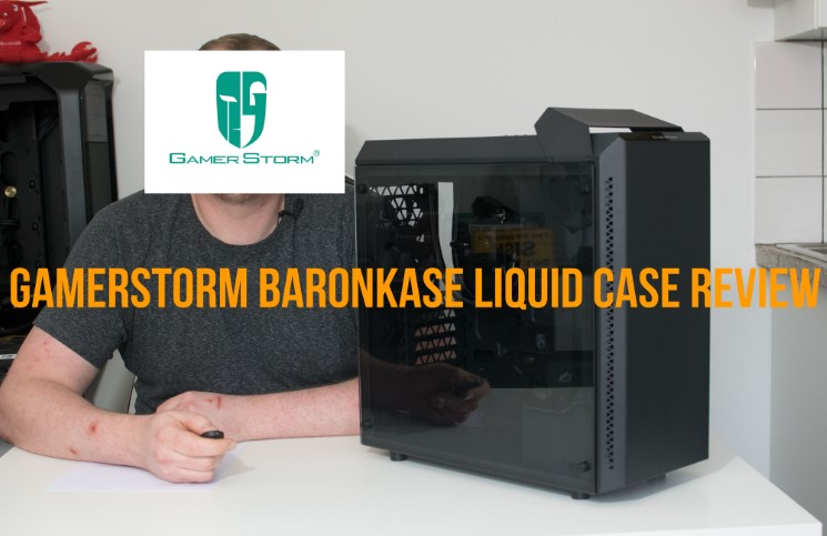Deepcool Gamerstorm Baronkase Liquid PC Chassis Review