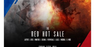 OCUK Red Hot Sale Feature