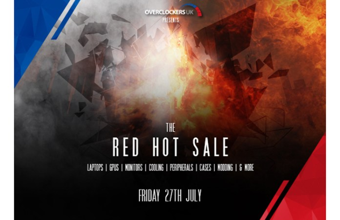 OCUK Red Hot Sale Feature