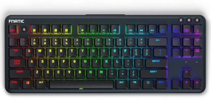 Fnatic miniStreak RGB Mechanical Keyboard