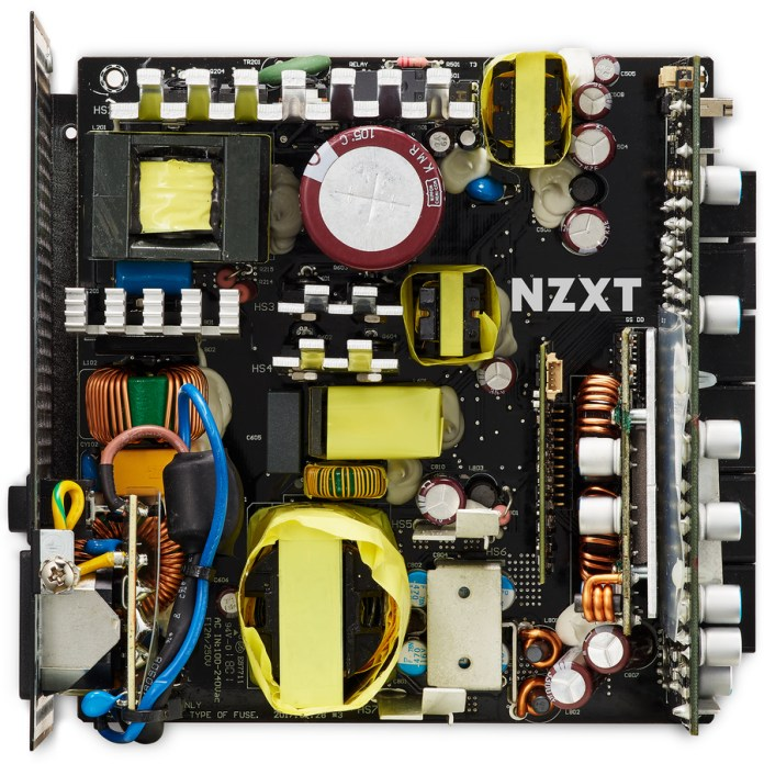 NZXT E850 850W Power Supply Internal Image