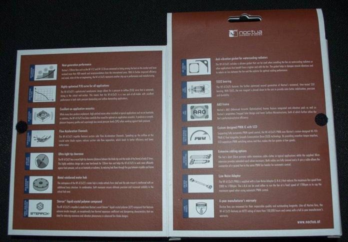 Noctua NF-A12x25 Box Open Flap 2