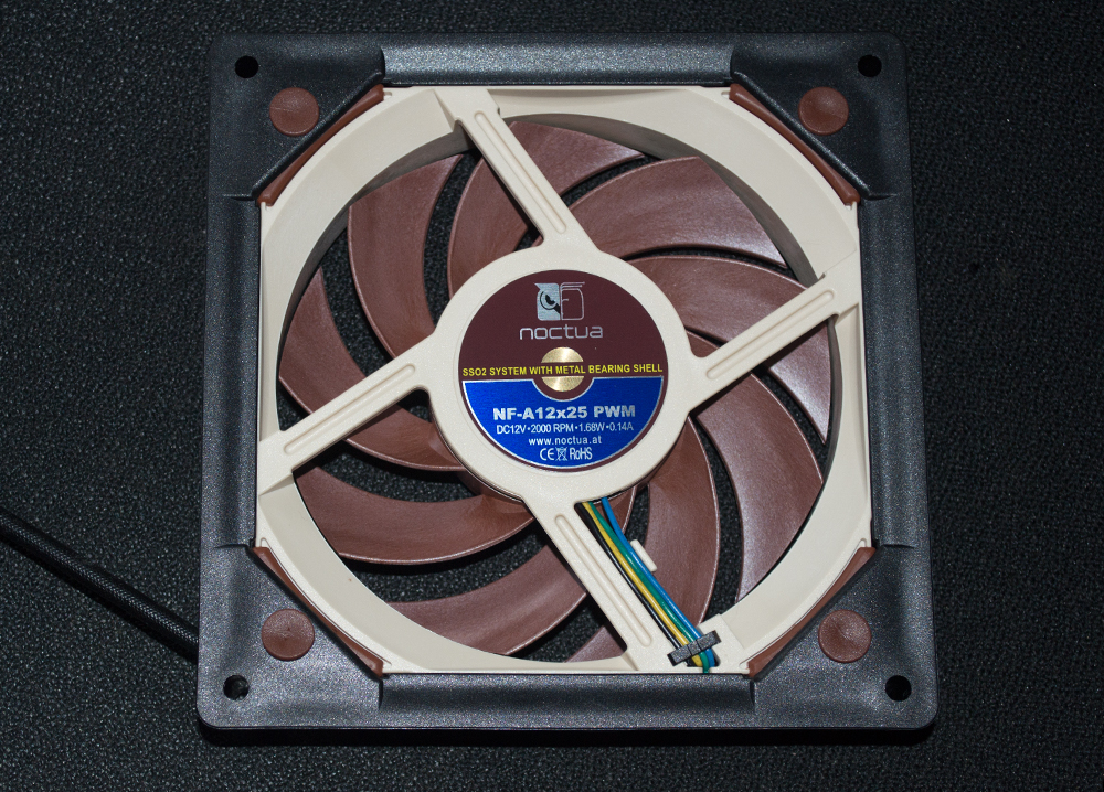 Noctua NA-SFMA1 140mm Fan Adapter Review, Featuring the NF
