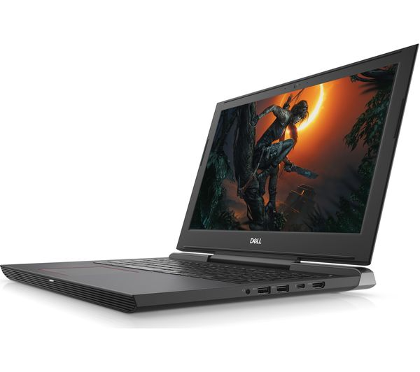 Dell Inspiron G5 15 Gaming Laptop Side view