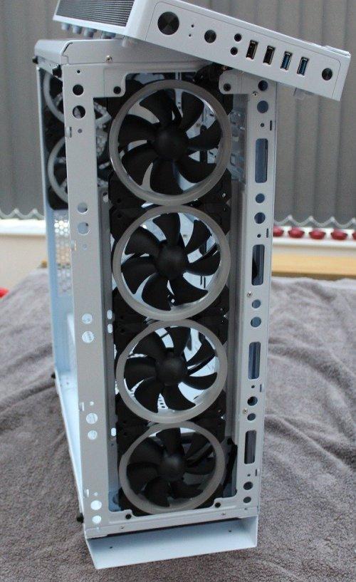 sahara p75 front fans