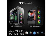 Thermaltake New View 21 TG RGB Plus Mid Tower Chassis and View 71 TG RGB Plus Full Tower Chassis _1-1