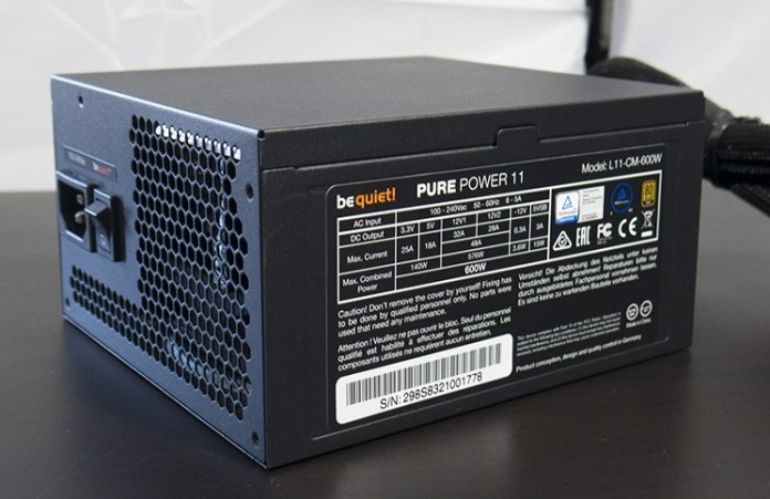 be quiet! Pure Power 11 600W Power Supply Review