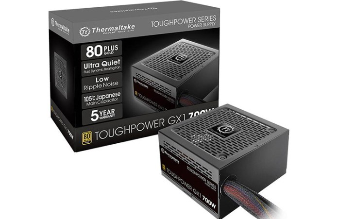 THermaltake Toughpower GX1 700W Power Supply Review